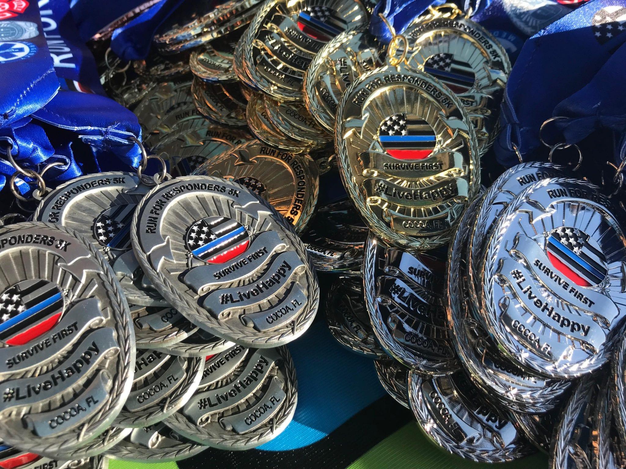 2019 5k medals